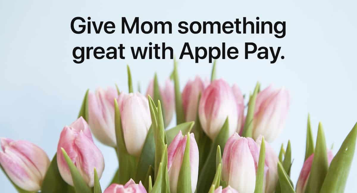 Apple Pay flowers