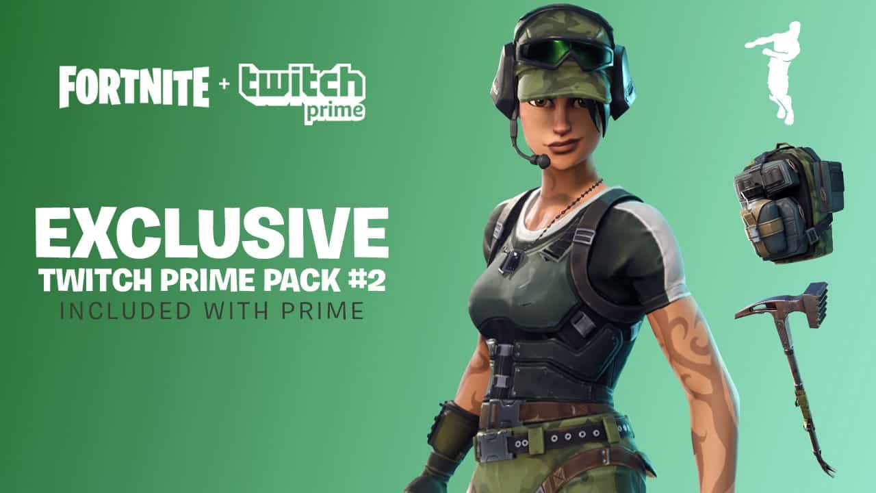 Fortnite Twitch Prime loot pack