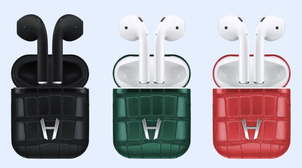 These are just some of the color options for Hadoro AirPods.