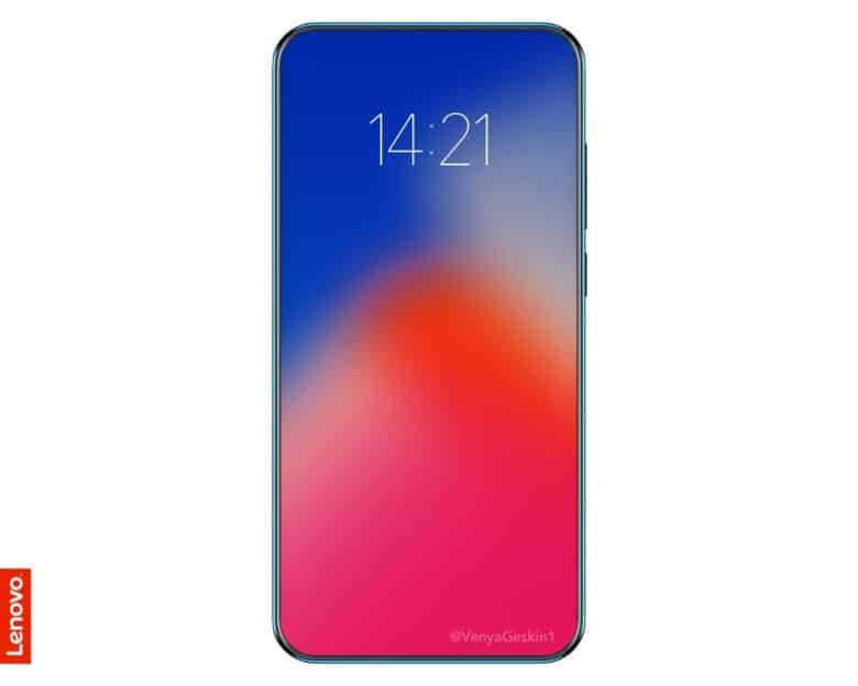 Lenovo S New Iphone X Clone Has An Edge To Edge Screen With No Notch