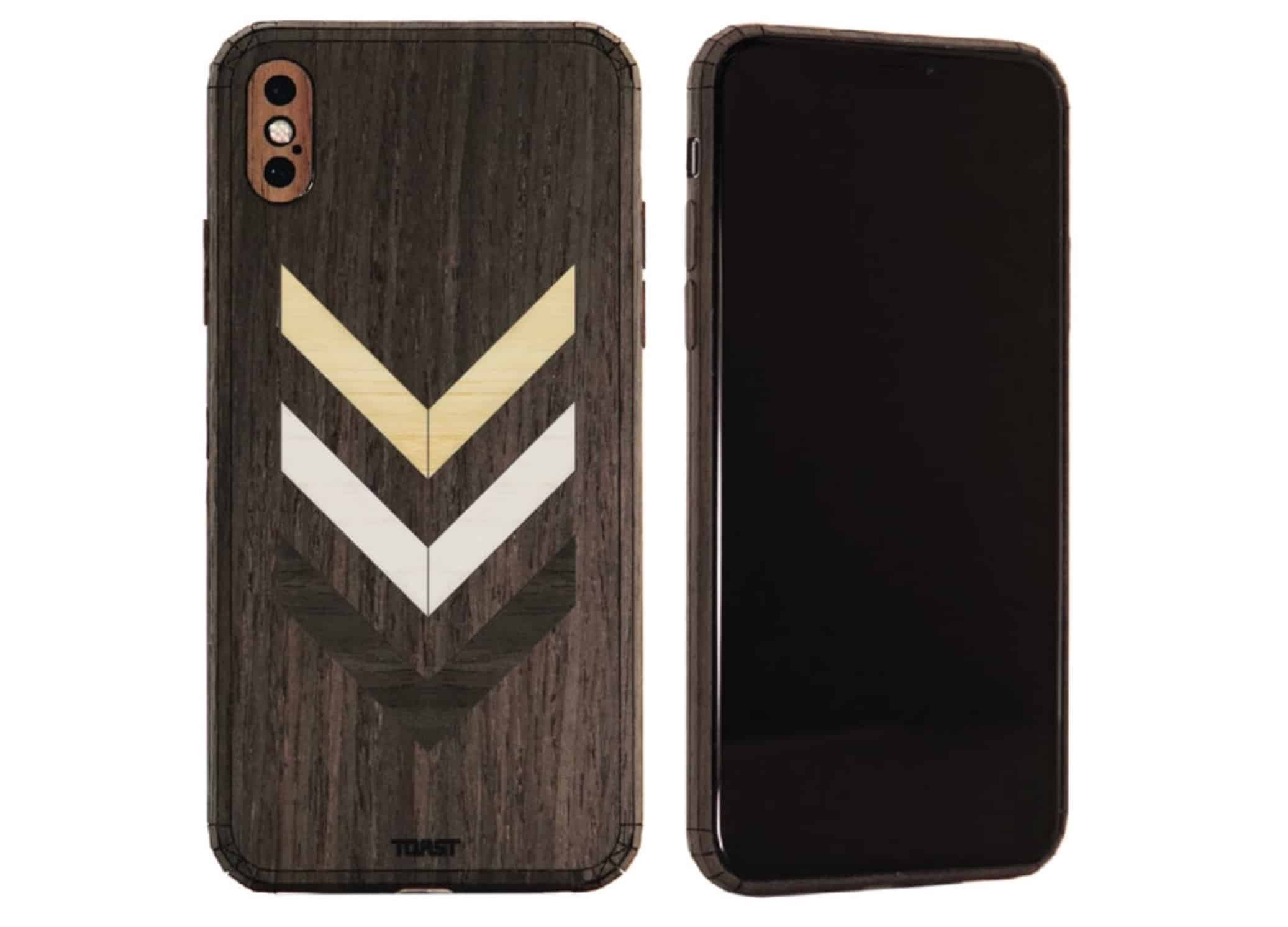 Toast wooden skin for iPhone
