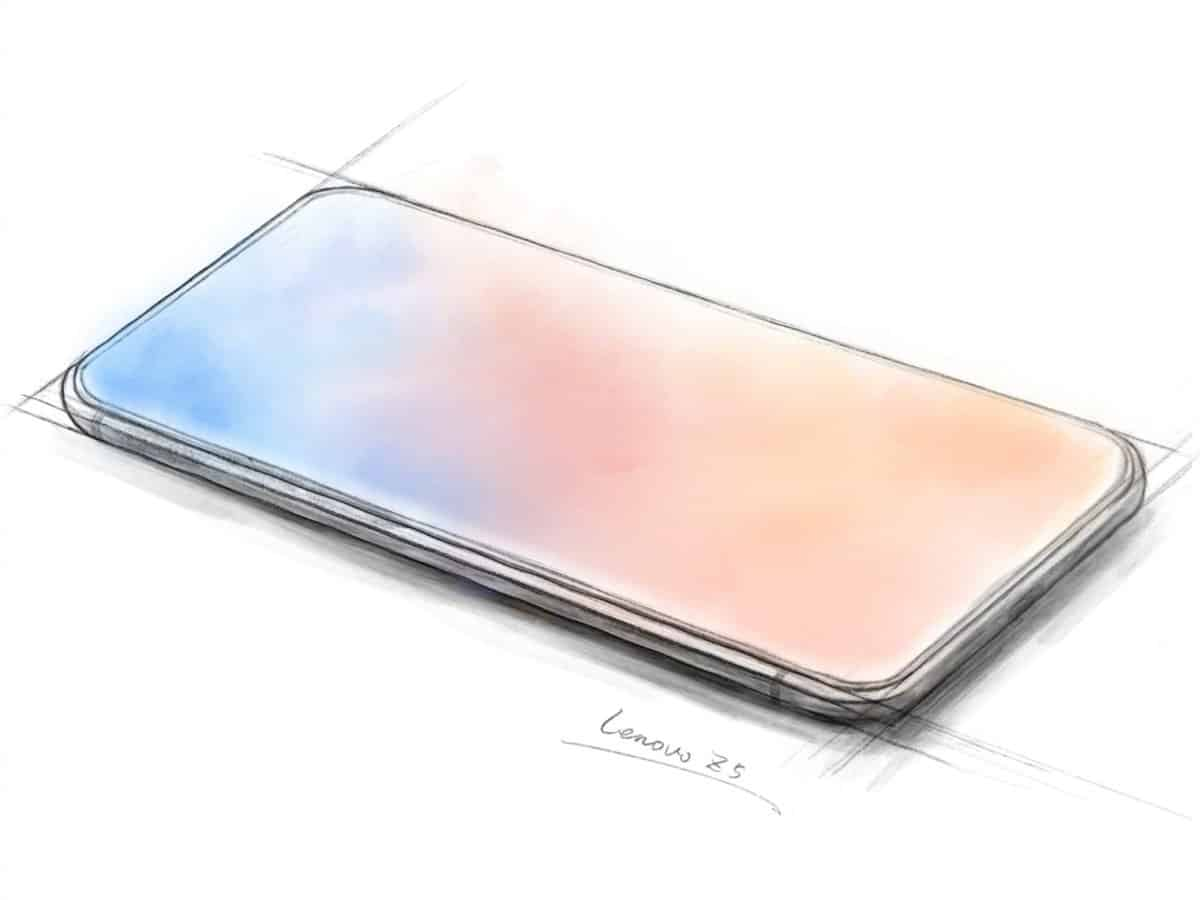 Lenovo Z5 iPhone X clone