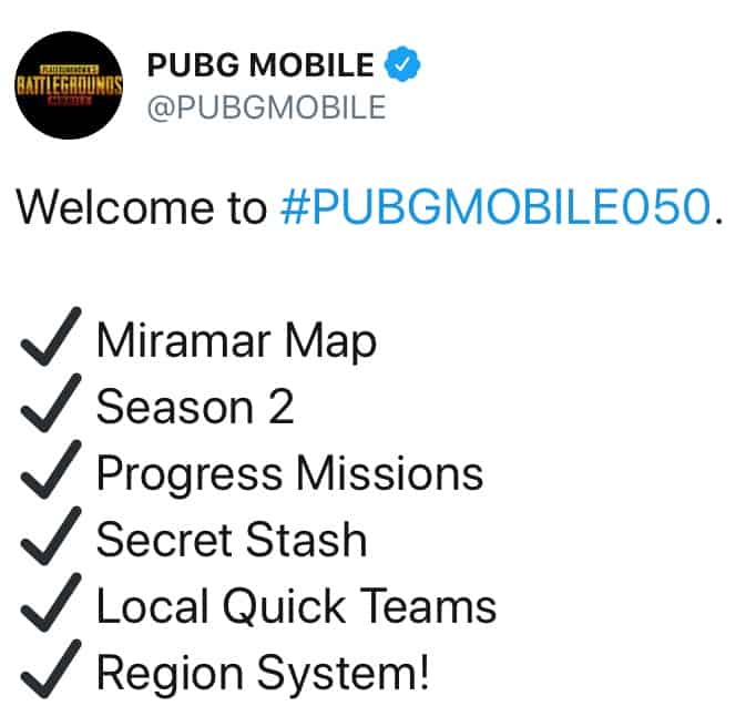 PUBG Mobile 0 5 0 for iPhone adds Miramar desert map | Cult