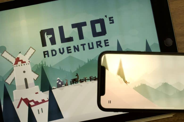 Alto's Adventure on iPad and iPhone