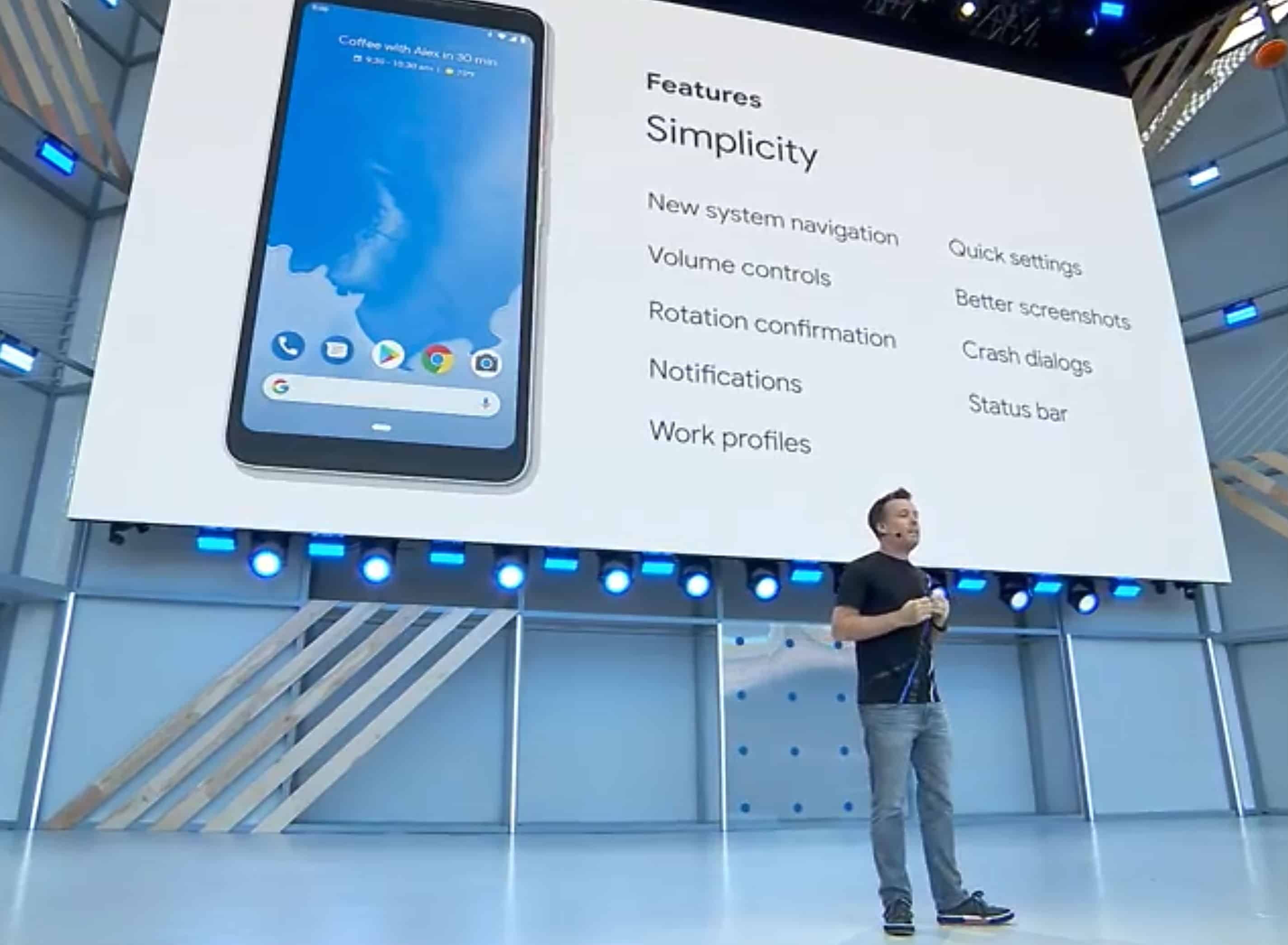 Android P is an AI-focused update of Google's mobile operating system.