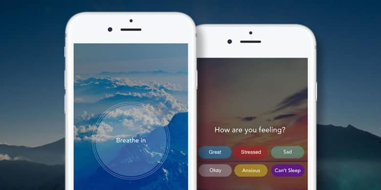 Aura is an app that uses reminders and mindfulness exercises to help keep your stress levels down.