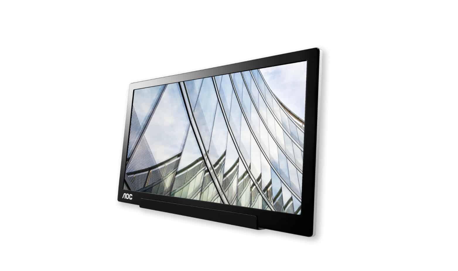 AOC I1601FWUX portable monitor