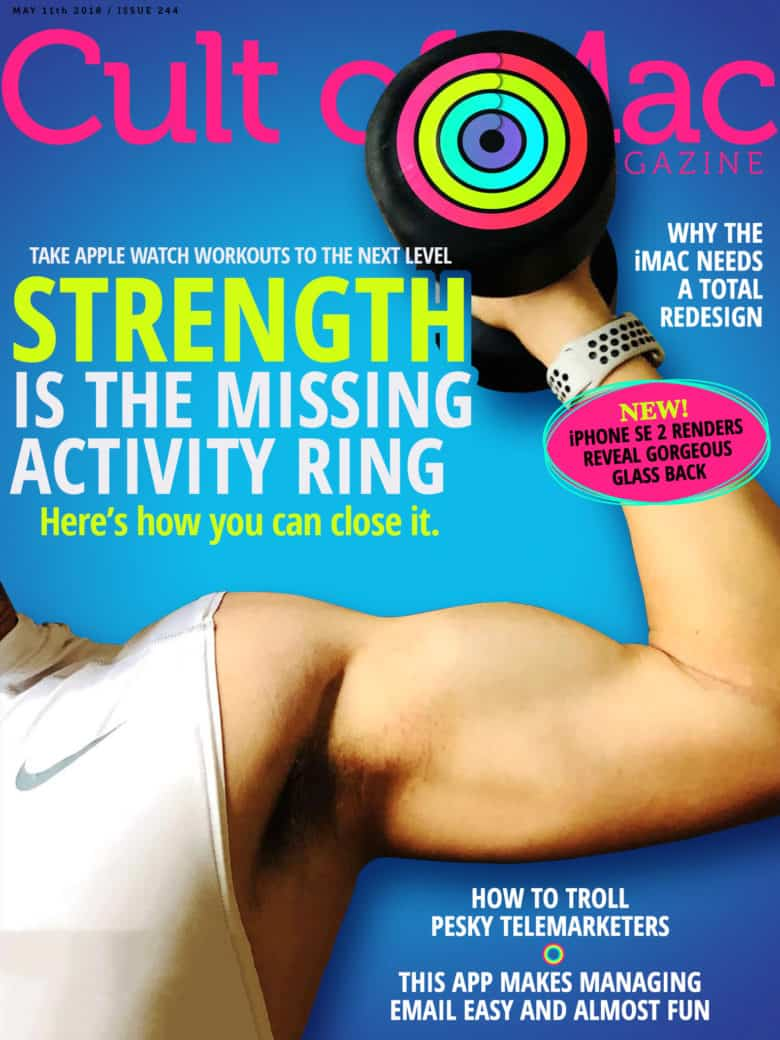 Cult Of Mac Magazine Strength Is The Missing Activity Ring On Apple See A Robot Workout Watch And More