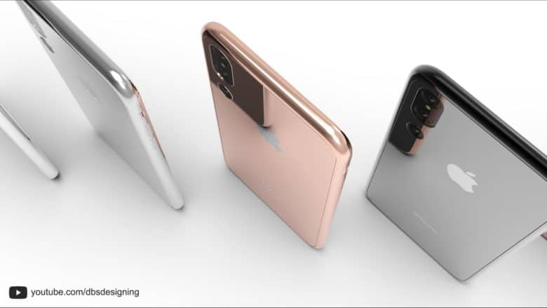An artist compiled various rumors about the 2018 iPhone into images including this one