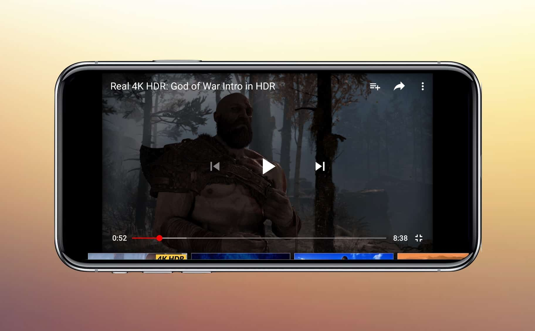 Displaying an HDR YouTube video on a non-HDR screen is impossible.