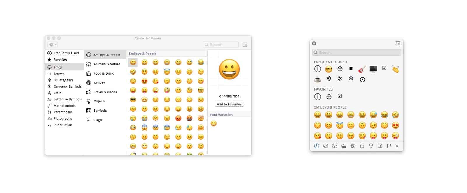 How to use the Mac's secret emoji panel | Cult of Mac