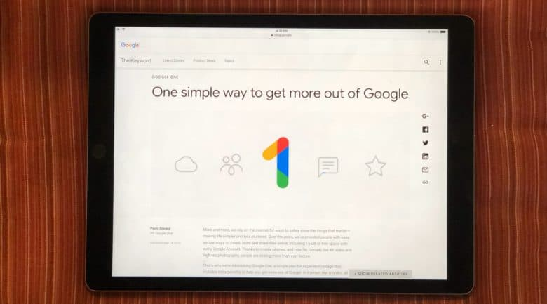 Google One is apparently going to replace Google Drive.