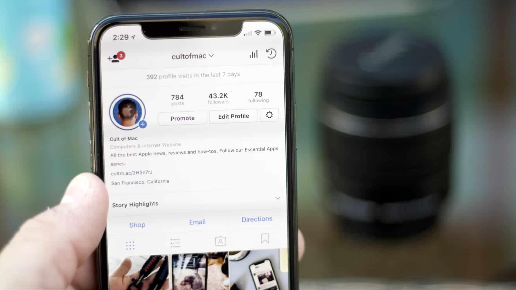 Cult of Mac Instagram profile