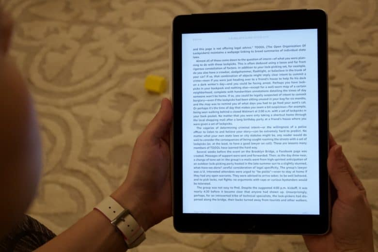 Kindle app is the best e-books app [Cult of Mac's Essential