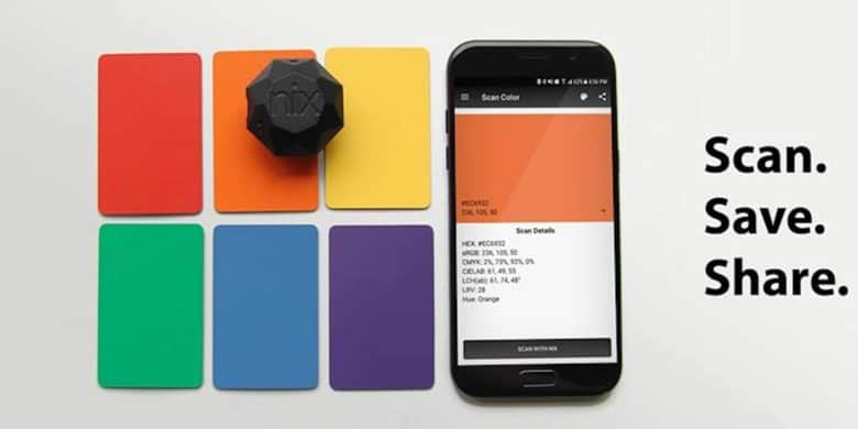 Capture colors perfectly for all kinds of projects, from digital design to home renovation.