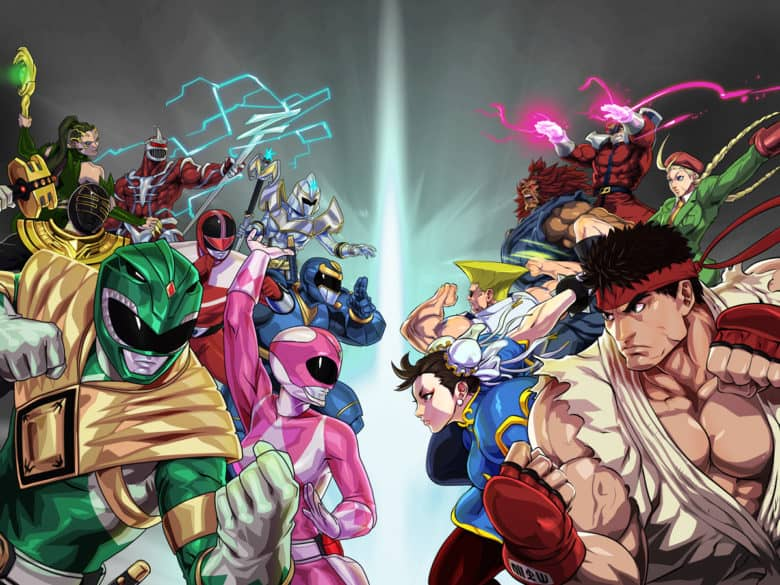 Power Rangers: Legacy Wars crosses over with Street Fighter