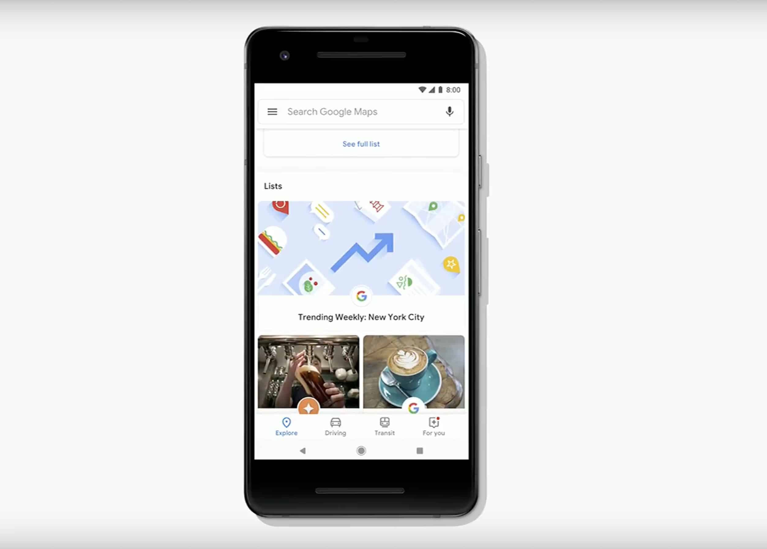 Google Maps can help you find events now.