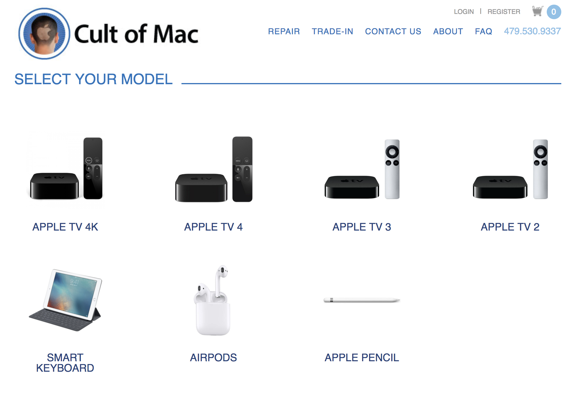 Cult of Mac buyback program now buys used Apple accessories, including Apple Pencil, Smart Keyboard and AirPods.
