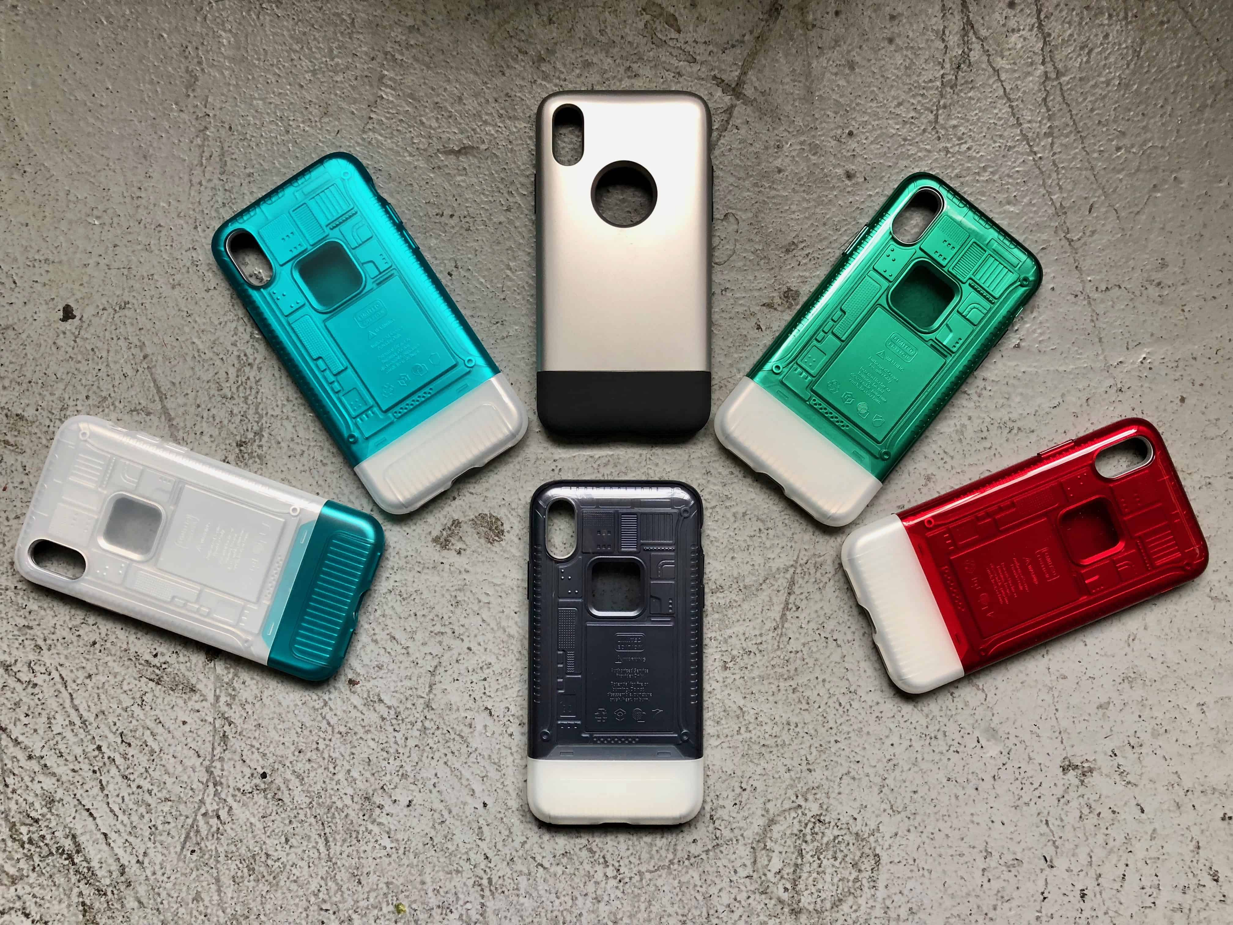 timeless design 4b4b7 7c874 Spiffy new Spigen iPhone X cases look like original iMac and iPhone