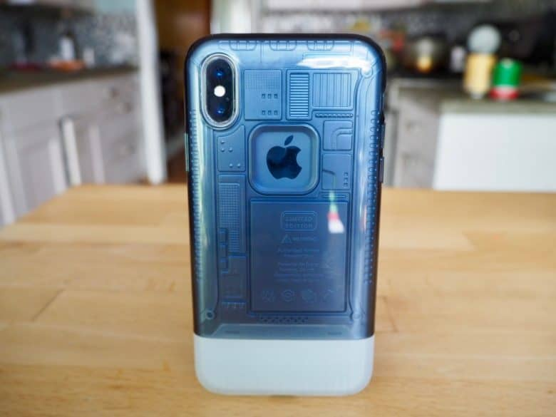 Spigen Classic C1 iMac inspired iPhone X-case