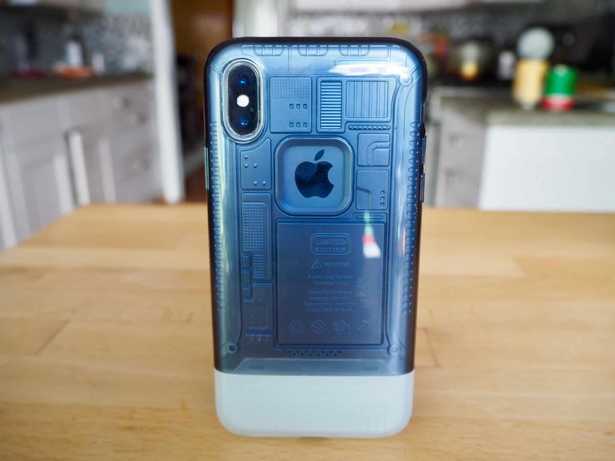 Spigen Classic C1 iMac inspired iPhone X-case
