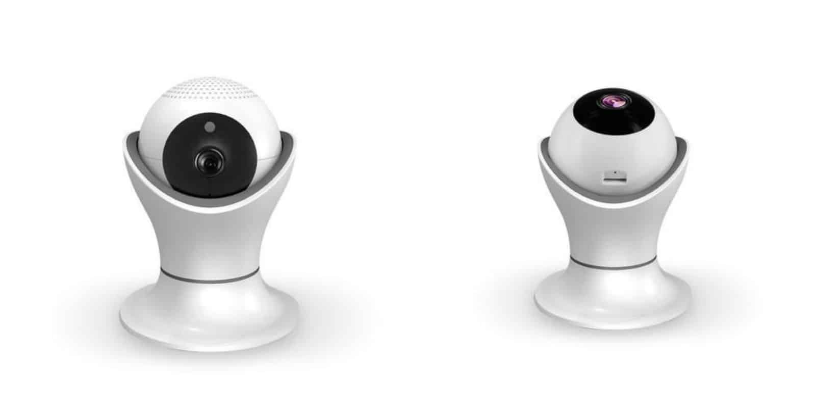 Watch your home from your mobile device with this encrypted security camera.