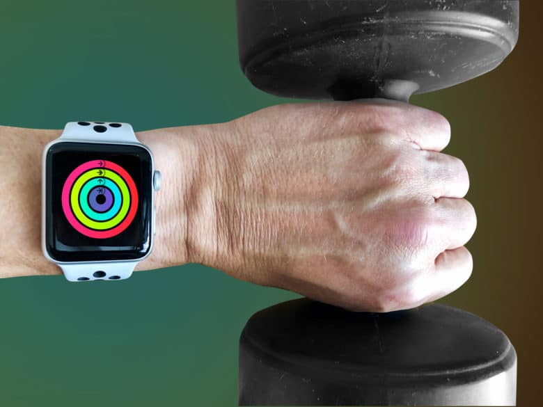 Apple Watch can't detect weights you are holding in your hand