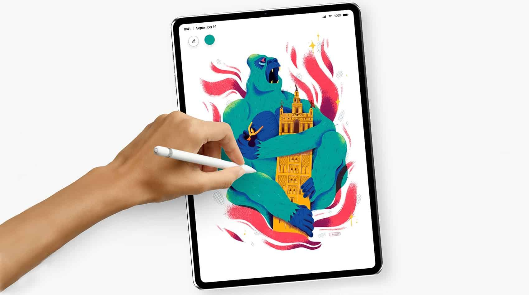 2018 iPad Pro concept art