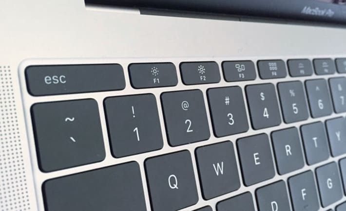 MacBook Pro without a Touch Bar