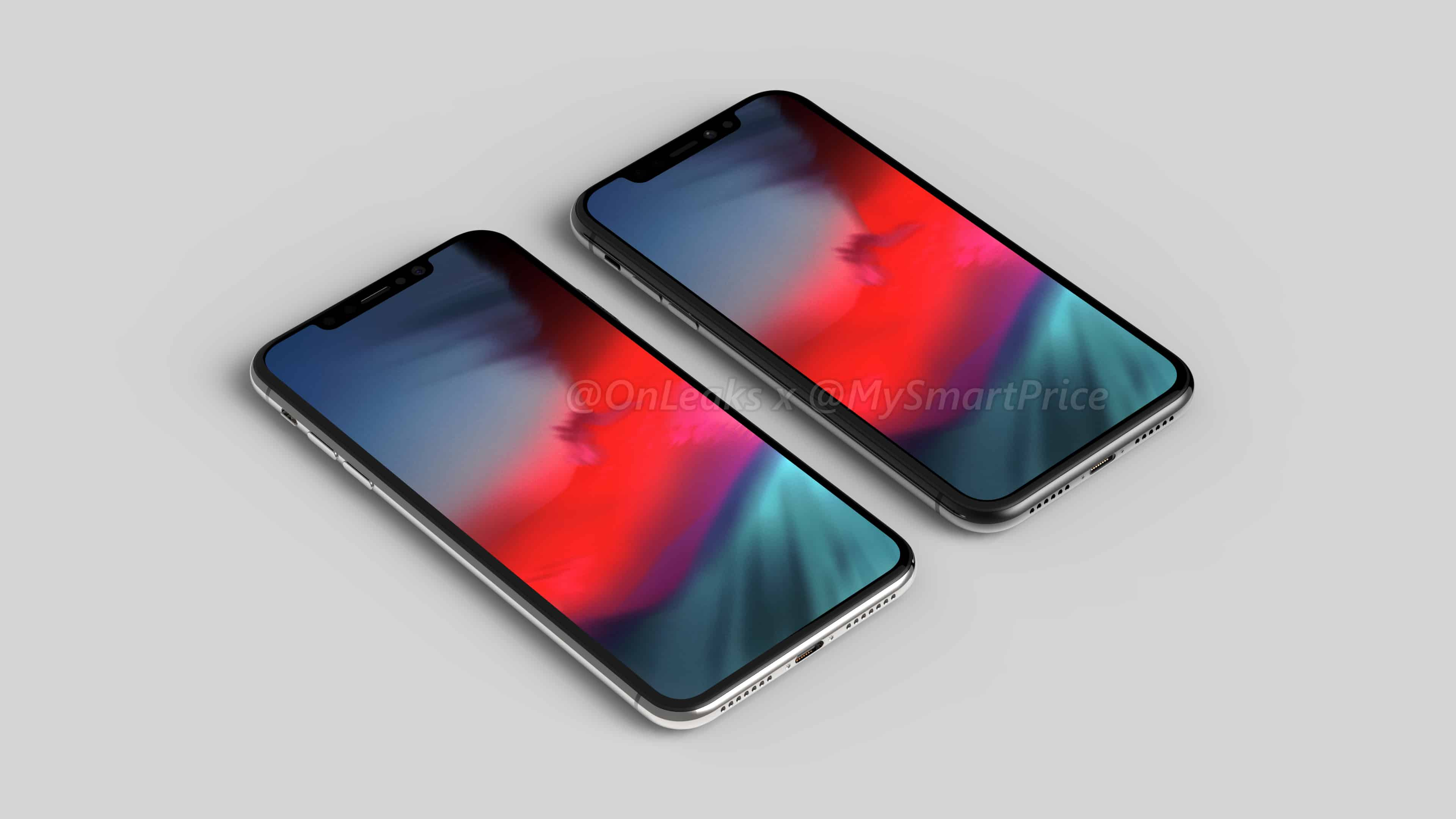 6.5- and 6.1-inch 2018 iPhone models