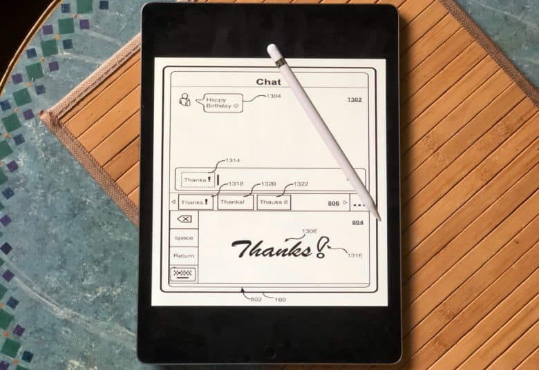 iPad and iPhone handwriting recognition is a real possibility