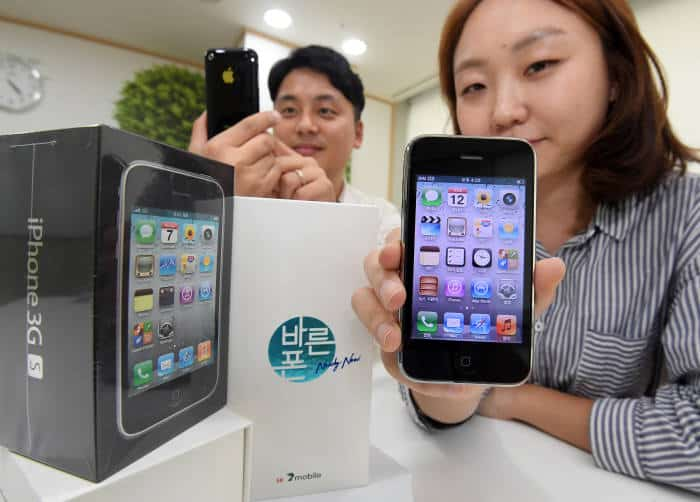 South Korea: Carrier SK Telink Brings Back iPhone 3GS