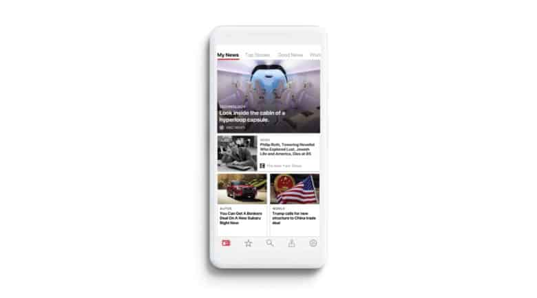 Microsoft News on iOS