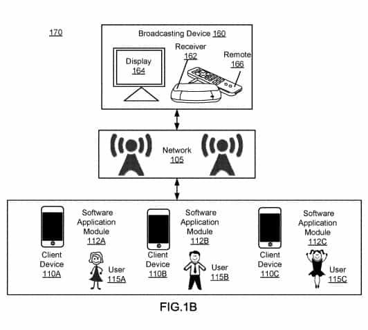 Facebook recording patent