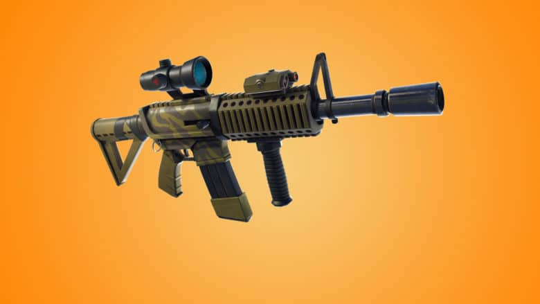 Fortnite thermal scope AR