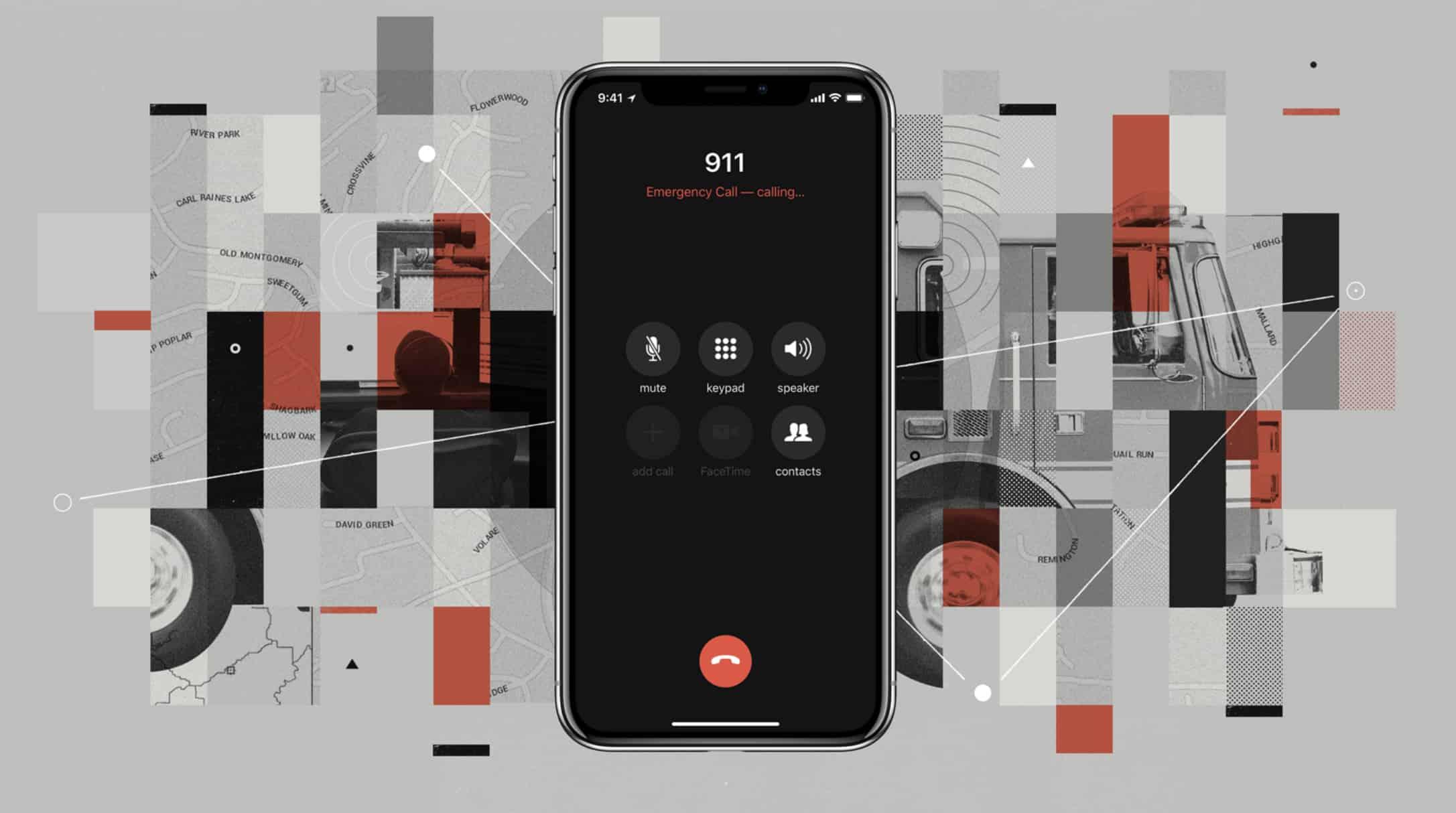 iOS 12 911 calls