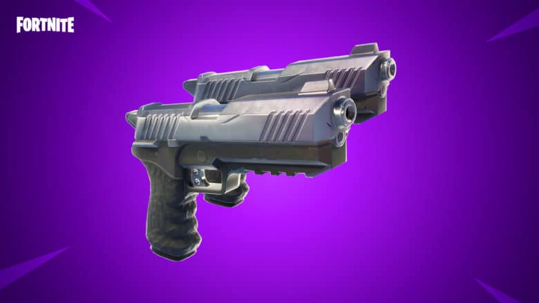 Dual pistols are live in Battle Royale.