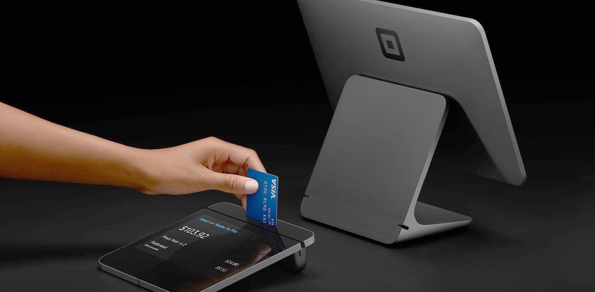 Square Register POS terminal