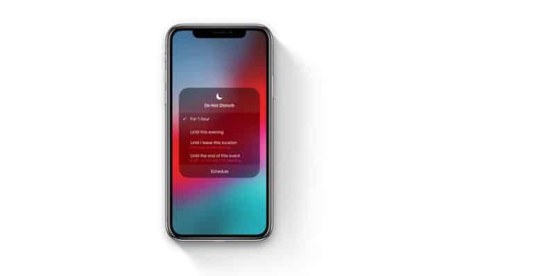 Do Not Disturb ios 12