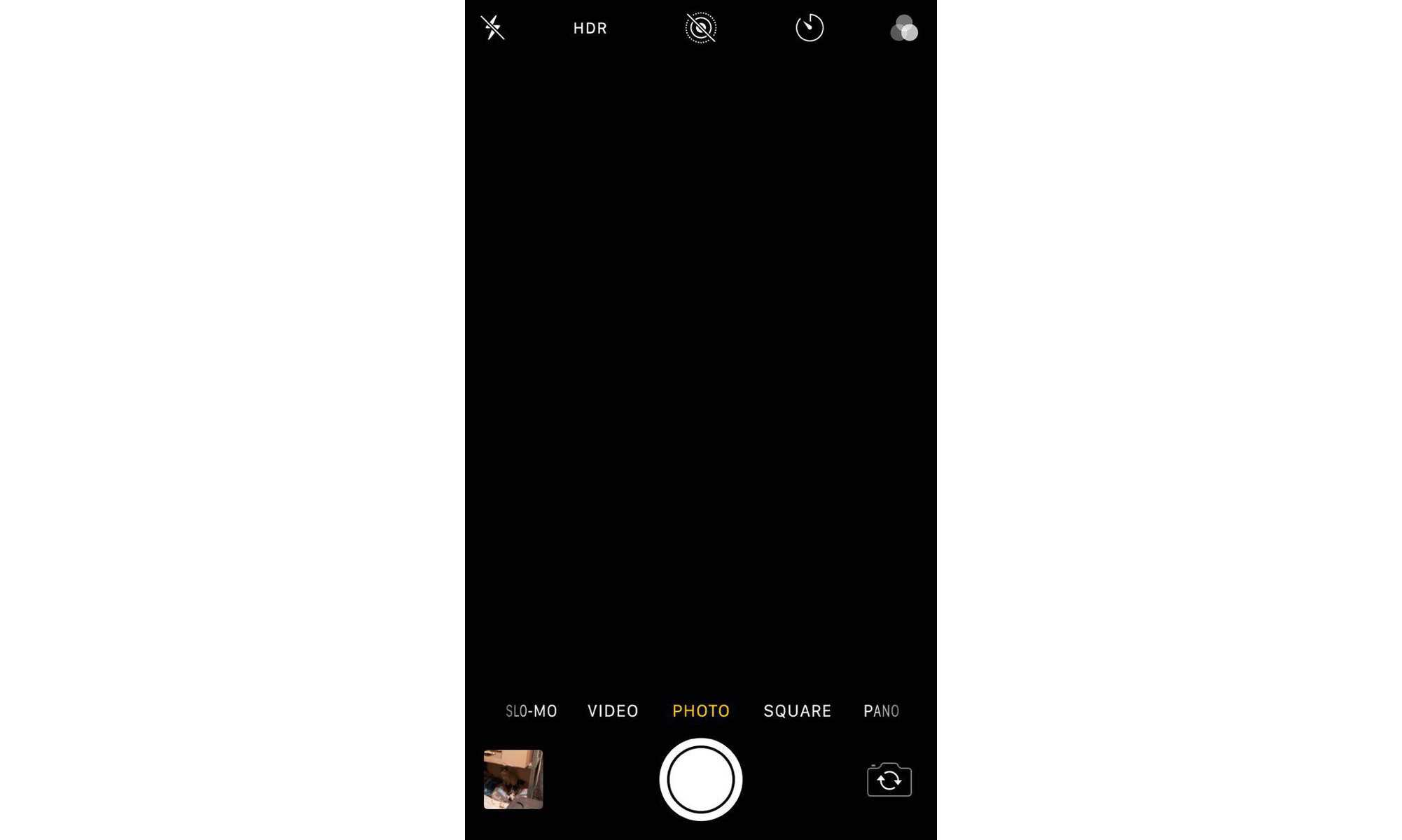 A black screen is one of the iOS 11.4 camera problems users are reporting.