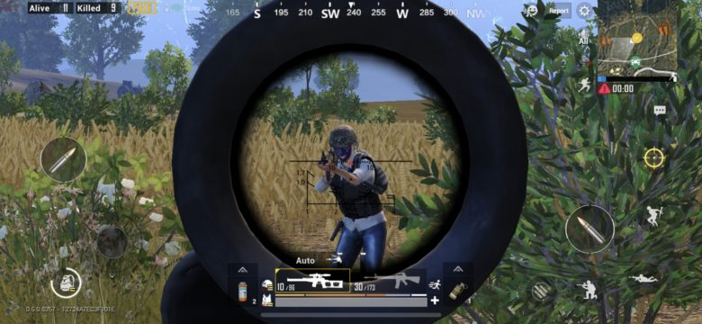 PUBG Mobile first person