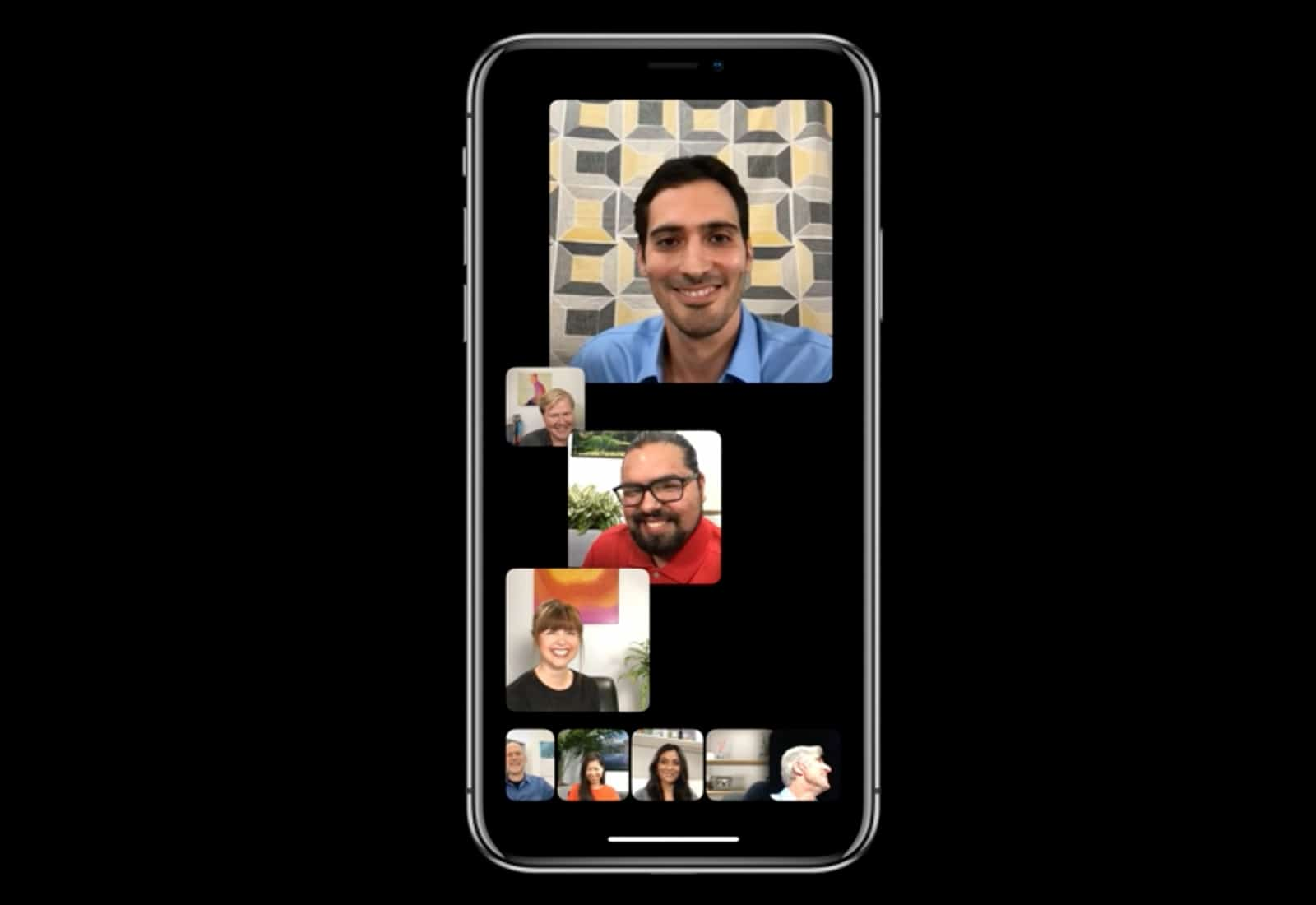 FaceTime group calls iOS 12