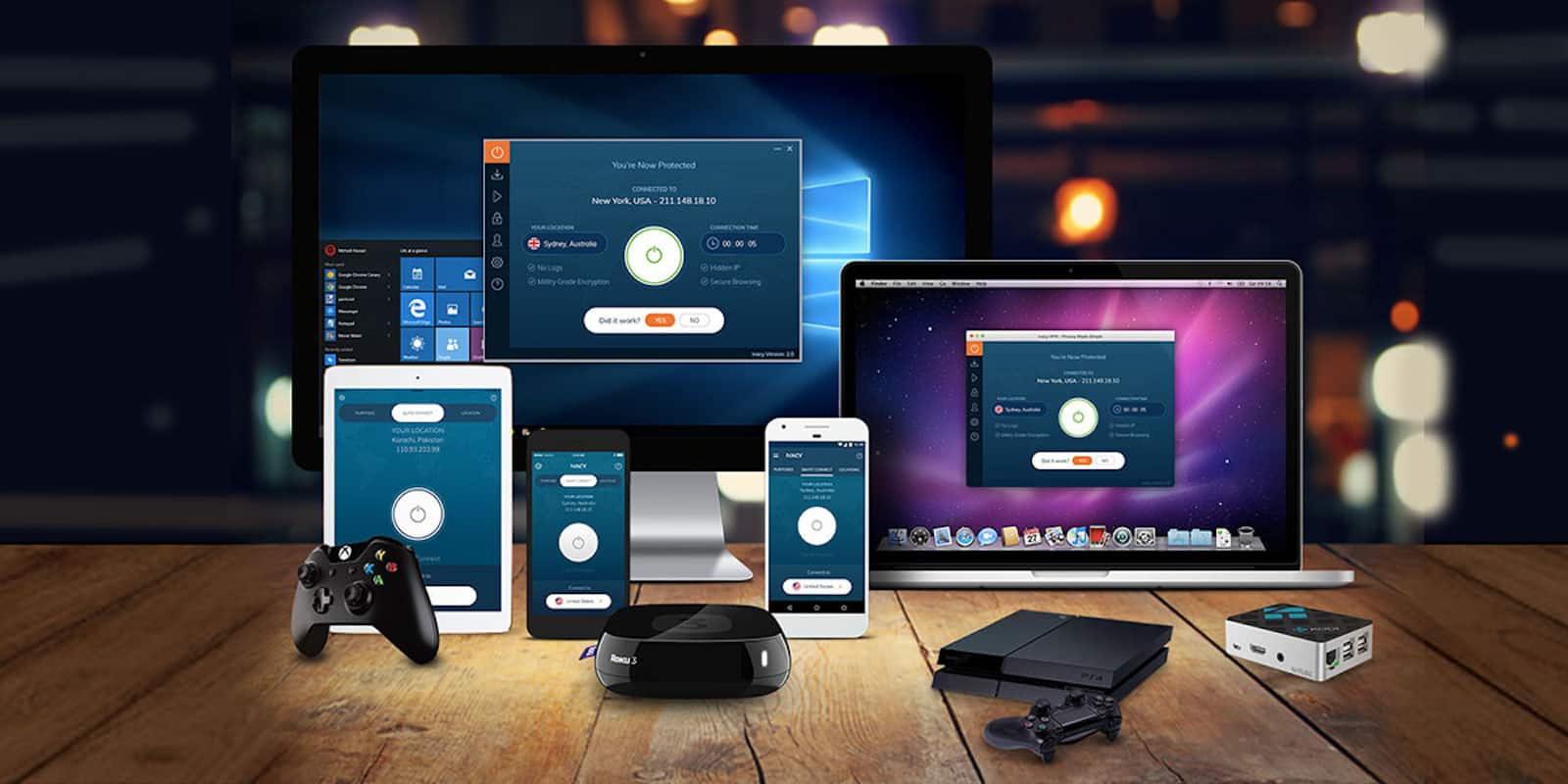 Protect your online activity with a lifetime of VPN protection.