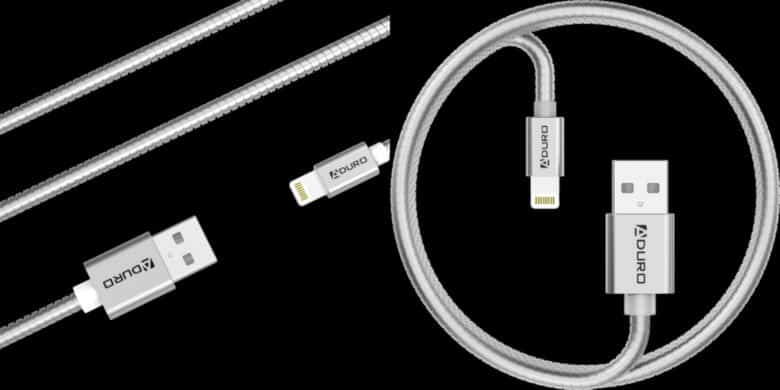 This Metal Sheathed Lightning Cable Last Longer And Reaches