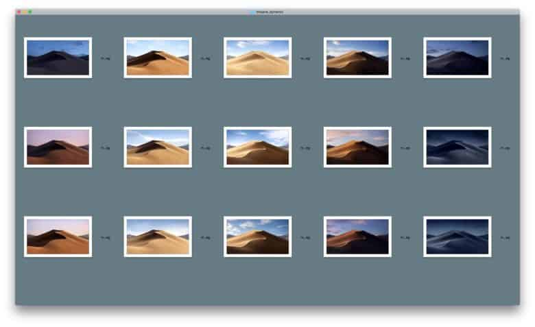 How to get macOS Mojave's shifting Dynamic Desktop on any
