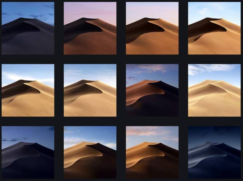 Mojave wallpapers