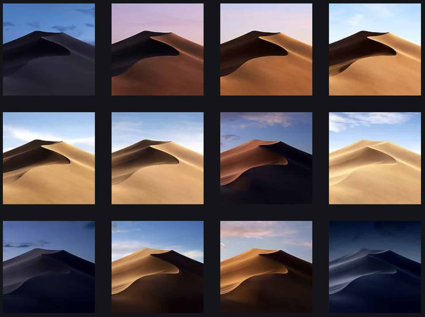 Grab All 16 Macos Mojave Dynamic Wallpapers Right Here