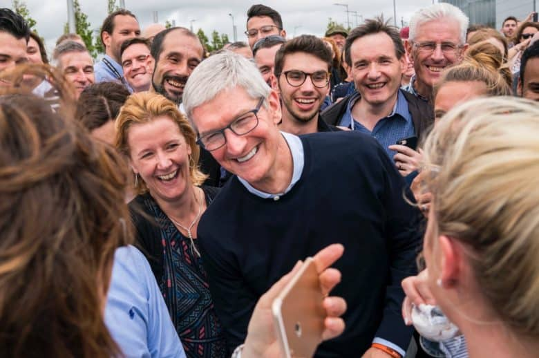 Tim Cook in Ireland