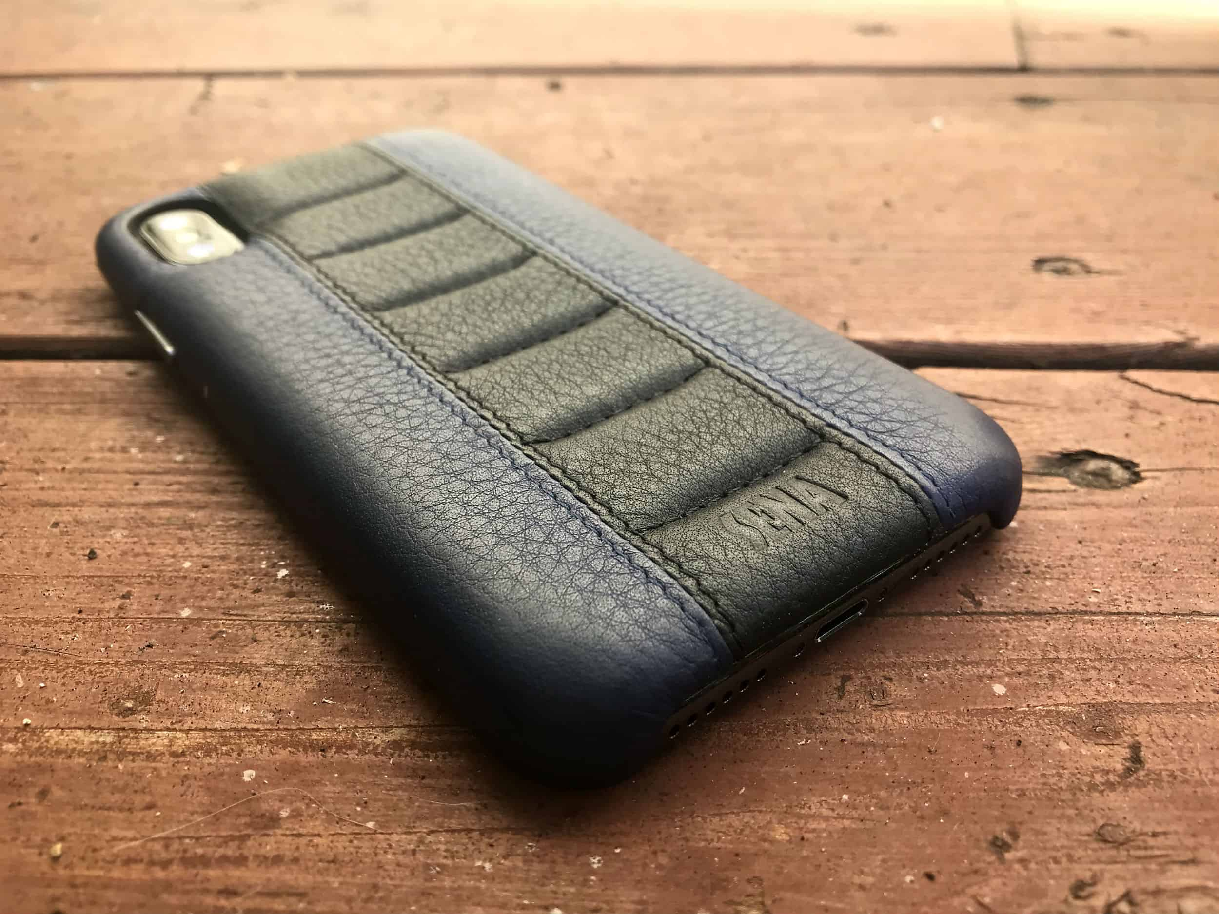 Sena Racer review: An iPhone X case with a vintage rock 'n' roll and hot rod vibe.