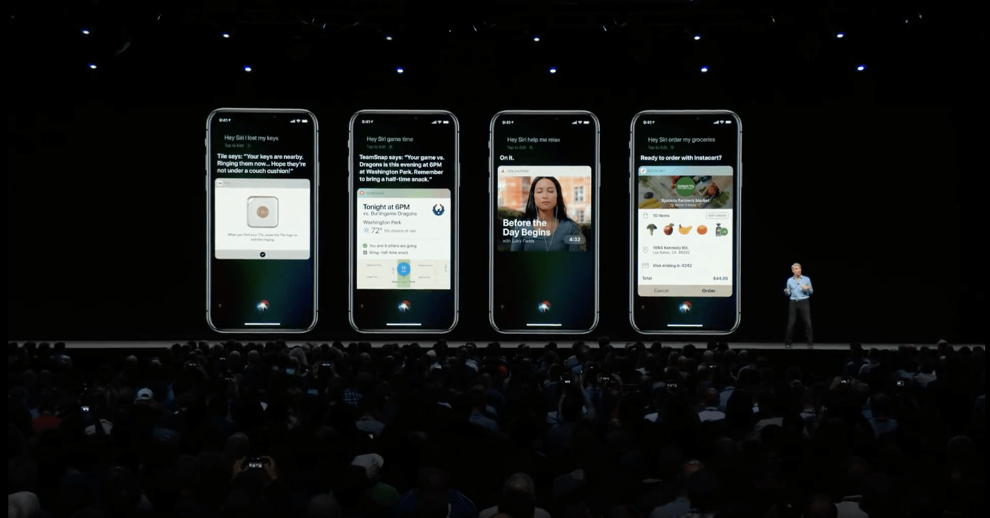 Apple announces Siri Shortcuts at WWDC 2018